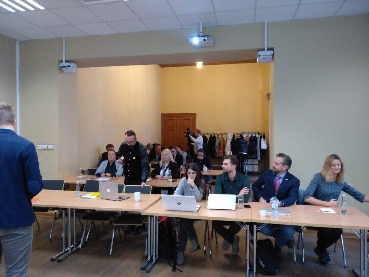 Kolejne spotkanie interesariuszy oraz członków klastra i wizyta gości z EPSI